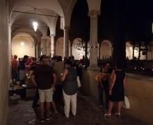 Ravenna. Ascoltare Bellezza 2019: l'opera 'Submission' di Arnold Mario Dall'O segna l'equinozio d'autunno.