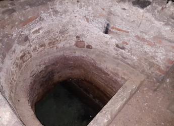 Albenga. Alle origini della civiltà:  Santa Maria in Fontibus. Con un pozzo dall' acque terapeutiche.