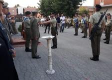 Rimini. Caserma 'Giulio Cesare': commossa cerimonia di commiato del 2° gruppo del 121° Artiglieria.
