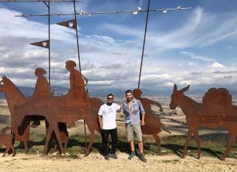 Romagna. In cammino con il calice,  destinazione Santiago. L'originale viaggio di due romagnoli.