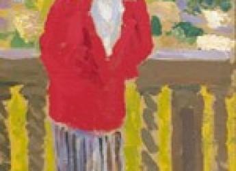 Faenza. Alla Pinacoteca: conferenza di  Marcella Vitali sul dipinto  ' Donna in rosso' di Carlo Corsi.