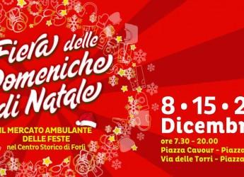 Forlì. Appuntamento con la fiera delle Domeniche di Natale. 'Scrigno' di 'tesori' per regali e  acquisti.