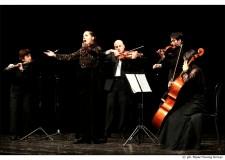 Lugo. I musicisti del Music Festival in esibizione a Roma. Con il celebre Capriccio numero 24 di Paganini.