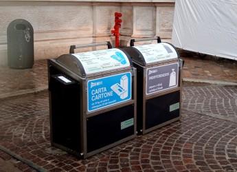 Ravenna. Di nuovo disponibile per cittadini e attività l'isola ecologica interrata di piazza Andrea Costa.