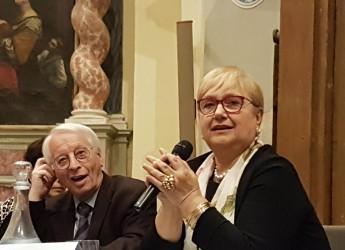 Forlimpopoli. Il premio Artusi 2019 a Lidia Bastianich. Che dice: 'Mi sento l'incontro di due grandi culture'.