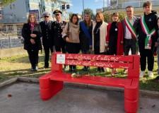 Misano Adriatico. Installata una ' panchina rossa'. Potenziato l' ascolto e l' aiuto a donne vittime di soprusi.
