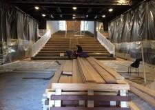 Santarcangelo d/R. Quasi completato  il restyling del teatro 'Lavatoio'. Nuovo look per foyer e biglietteria.