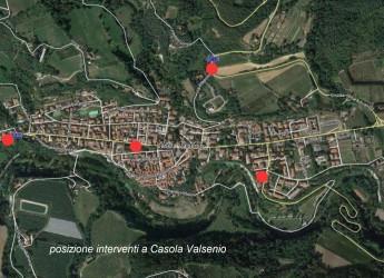 Casola Valsenio. Nuovi impianti di videosorveglianza e lettura targhe. In zona artigianale  e accessi del paese.