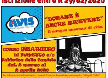 Forlì. Avis e fumettoteca 'Calle' organizzano un corso di fumetto aperto a tutti. Con ricchi premi.