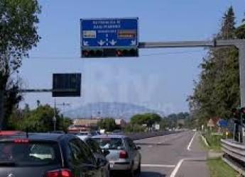 Rimini. A 156 km all'ora sulla Superstrada di San Marino. Le folli velocità registrate dai telelaser.