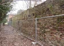 Mura storiche: approvato intervento di consolidamento e di restauro nel tratto di via Zagarelli alle Mura.