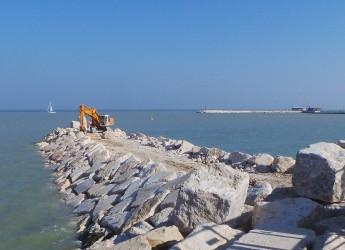 Rimini. San Giuliano mare, il via  all'intervento per la difesa della costa e della balneazione. Gli obiettivi.