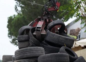 Emilia Romagna. Il riciclo.dei pneumatici fuori uso non si ferma: raccolte e recuperate 4.266 t. di Pfu.