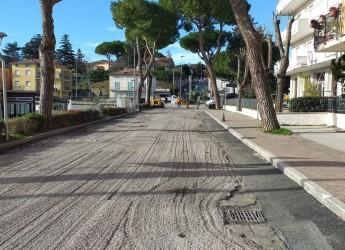 Misano Adriatico. Ripartono al qt Brasile  i lavori dei cantieri pubblici. Nelle vie Alberello e Pacinotti.