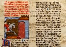 Cesena. Manoscritto incompleto nella teca virtuale della Malatestiana. Un' opera di due copisti d'Oltralpe.