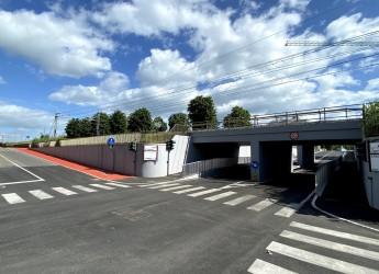 Misano Adriatico. Lavori pubblici. Ultimati i lavori al sottopasso di via Liguria-via Garibaldi.