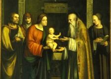 Cesena. Ai raggi x la pala della 'Presentazione di Gesù al tempio' di Santa Maria del Monte.