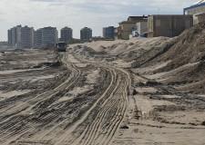Misano Adriatico. Altri 7500 mc di sabbia per il ripascimento  della spiaggia. La zona di Portoverde.