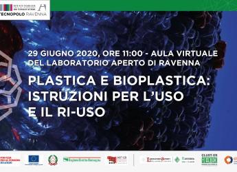 Ravennate. Possiamo vivere senza la plastica? Plastica e bioplastica: istruzioni per uso e riuso.