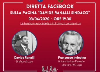 Lugo. Le trasformazioni della città dopo Covid. Il sindaco dialoga con il prof. Francesco Indovina.