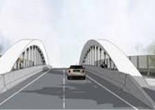 Ravenna. Ponte di Teodorico. Percorso alternativo. Consentita la svolta da via Carducci a via di Roma.