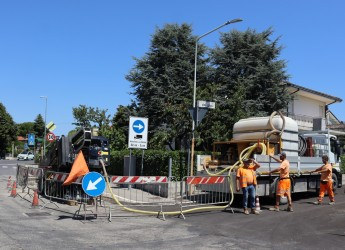 Santarcangelo d/R. Fibra ottica in arrivo a San Martino e Sant'Ermete. Dall'armadietto all'utenza.