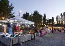 Forlì. Calafoma inaugura il Mercatino dei creativi. Ogni giovedì, dalle 16 alle 24, fino al mese di  ottobre.