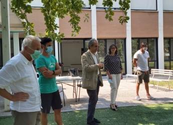 Forlì. Parrocchia di San Giuseppe Artigiano. Incontro amministratori, operatori e  bimbi del Centro estivo.