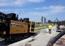 Ravenna. Proseguono i lavori di Hera al canale Candiano. Potenziamento delle reti fognarie  in area Darsena.