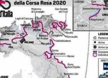 Santarcangelo d/R. Mercoledì 14 ottobre transita  il Giro d'Italia. Modifiche alla viabilità e alla sosta .