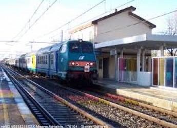 Misano Adriatico. Stazione ferroviaria. Dal 4 novembre  si fermeranno due nuovi treni.
