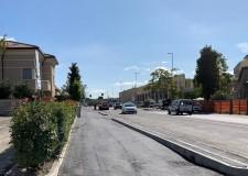 Santarcangelo d/R. Via Ugo Braschi, un percorso in sicurezza. Lavori anche per la ciclabile di via Buozzi.