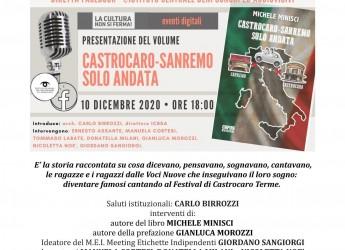 Faenza. In diretta streaming presentazione del libro ' Voci nuove. Castrocaro- Sanremo sola andata'.