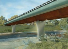 Ravennate. Via ai lavori per il nuovo ponte sul fiume Lamone a Grattacoppa. I percorsi alternativi.