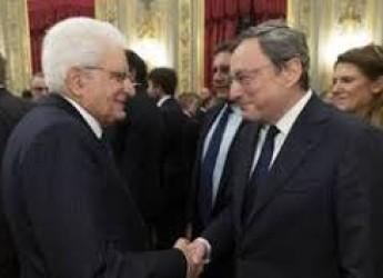 Non solo sport. Dal Colle l'invito a Mario Draghi. Per portare fuori dalle secche un Paese sempre dilaniato.