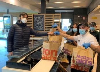 Rimini. McDonald's e Fondazione Ronald McDonald in dono alla Caritas 120 pasti caldi a settimana.