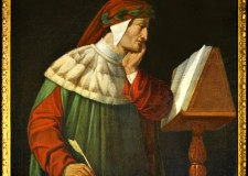 Ravenna. Ritratto di Dante su un francobollo in Slovenia. Oltre alla versione slovena della 'Commedia'.