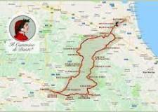 Emilia Romagna. Giro di Romagna per Dante. Con 4 tappe e 4 maglie ( la prima edizione, 22/25 aprile).