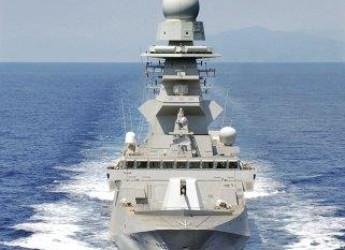 Roma. L'ottimo lavoro della fregata 'Rizzo' nel golfo di Guinea. Un'area a rischio per gli attacchi di pirateria.