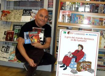 Forlì. 'Il giro del mondo dantesco in 80 fumetti!',  con inediti, dal 1°aprile alla Fumettoteca regionale.