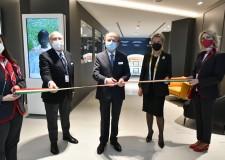 Forlì. Inaugurata la sala vip lounge dell'aeroporto 'Ridolfi'. Con tutti ' i valori tipici' della Romagna.