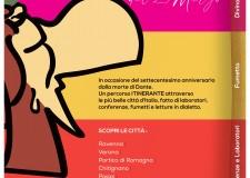 Roma. Dante: l'amore, le guerre e la Commedia nei dialetti italiani. Un fumetto sulla vita del Sommo Poeta.