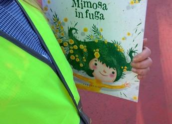 Alfonsine. 'Mimosa in fuga',  un libro in omaggio a tutti i partecipanti del Piedibus.