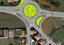 Rimini. Messa in sicurezza della SS16: la rotatoria tra via Cavalieri di Vittorio Veneto e l'arteria statale.
