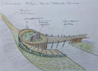 Rimini. Parco del mare e Psbo. Il nuovo disegno del waterfront. Lungomare, belvedere e pontile.