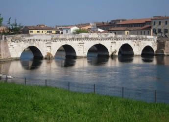 Rimini. Ponte di Tiberio, duemila anni di storia. E' tra i 15  gioielli storici più intatti e belli al Mondo.