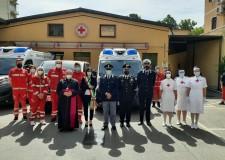 Forlì. Due nuove ambulanze e un pulmino per la Croce rossa. La cura, il soccorso e l'assistenza dei più fragili.
