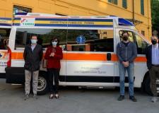 Parma. Per la 'Pubblica' una nuova ambulanza: la Papa 4. Un dono, per esaudire la volontà dei genitori.