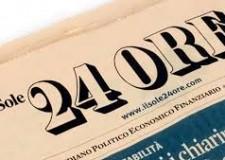 Italia. Le inchieste  Centro del Sole 24 Ore.  Su Toscana, Lazio, Umbria, Marche, Molise, Emilia e Abruzzo.
