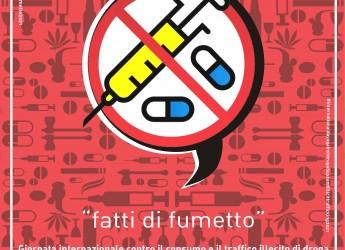 Forlì. All' International Day Against Drug  con 'Fatti di fumetto'. Per un contributo forte ed esclusivo.